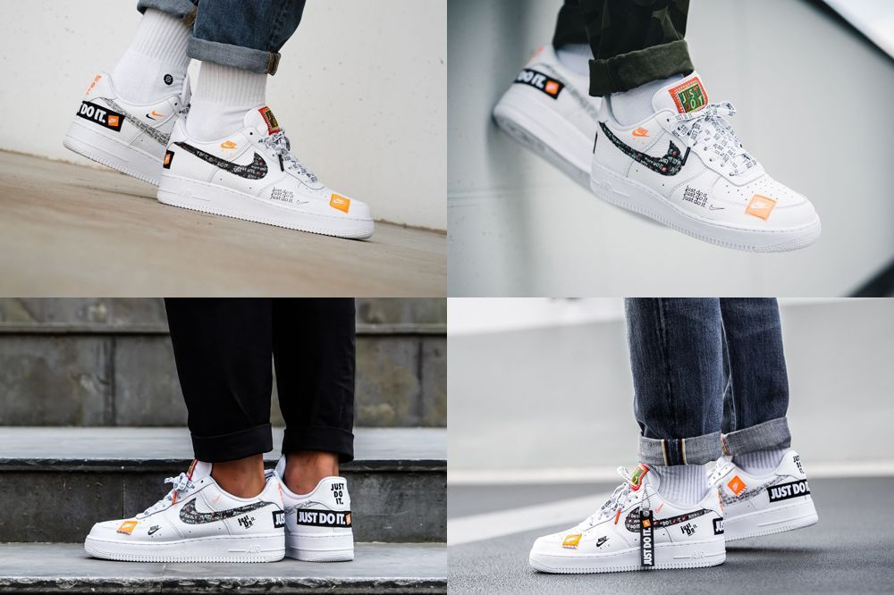 Nike Air Force 1 07 Low Jdi Just Do It Pack White Ar7719 100