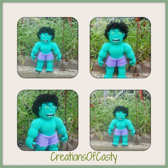 The Hulk Free Crochet Pattern • Spin a Yarn Crochet   570x570