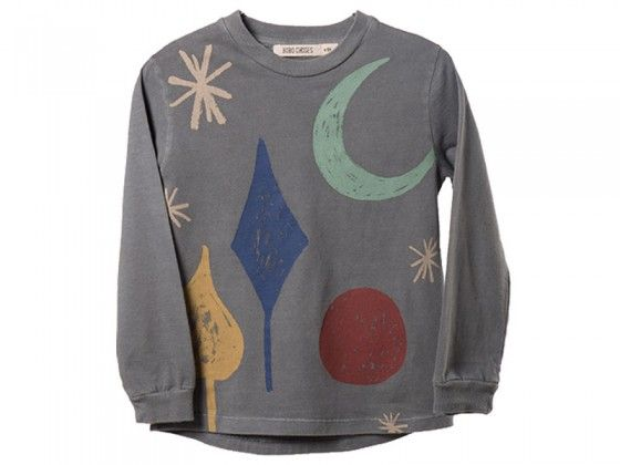 Brace yourself to see this top in heavy rotation, as we know that kids will love it! This Magic Powders Top from Bobo Choses