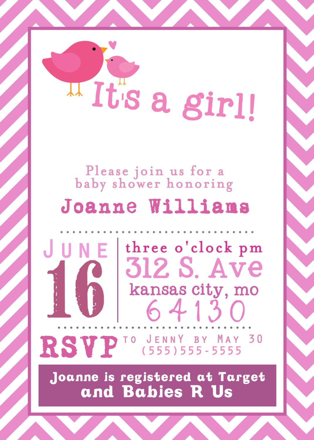 Printable Free Baby Shower Invitations – printable calendar