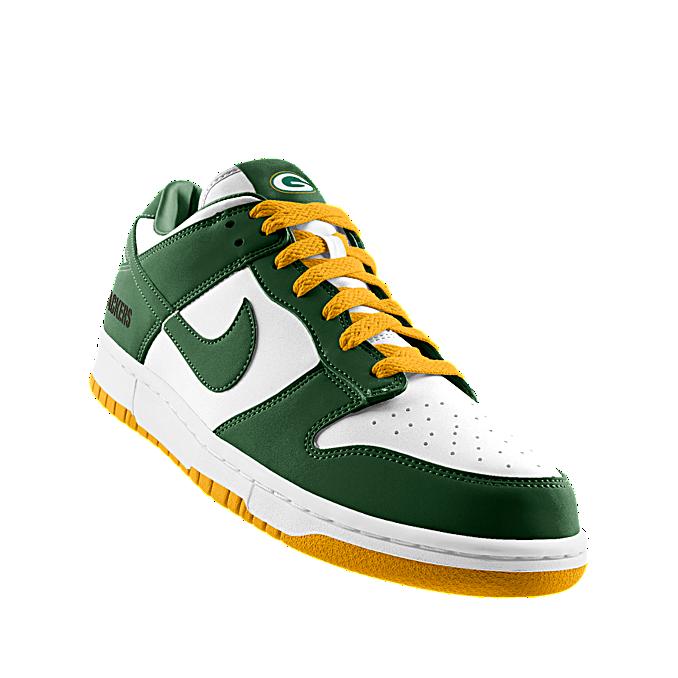 save off b9a35 afad0 ... jordans Packers · NIKEiD. Custom Nike Dunk Low (NFL Green Bay) iD Shoe  . ...