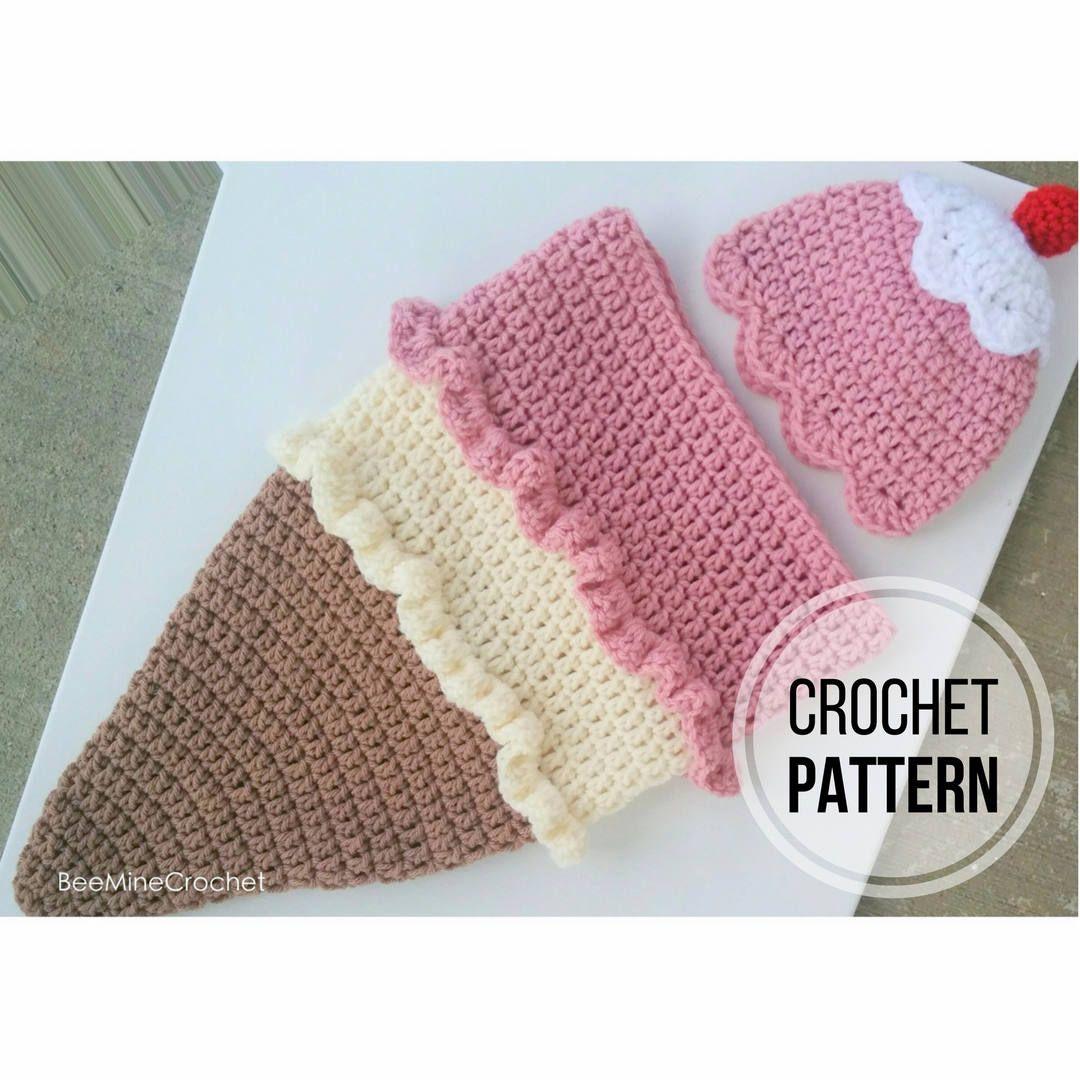 Excelente Patrón Capullo Crochet Recién Nacido Motivo - Ideas de ...