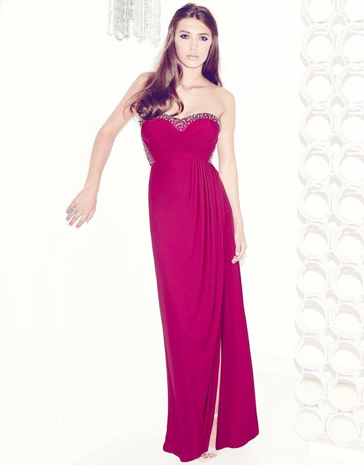 Lipsy V I P Strapless Maxi Dress #lipsyVIP | prom skirtas ...