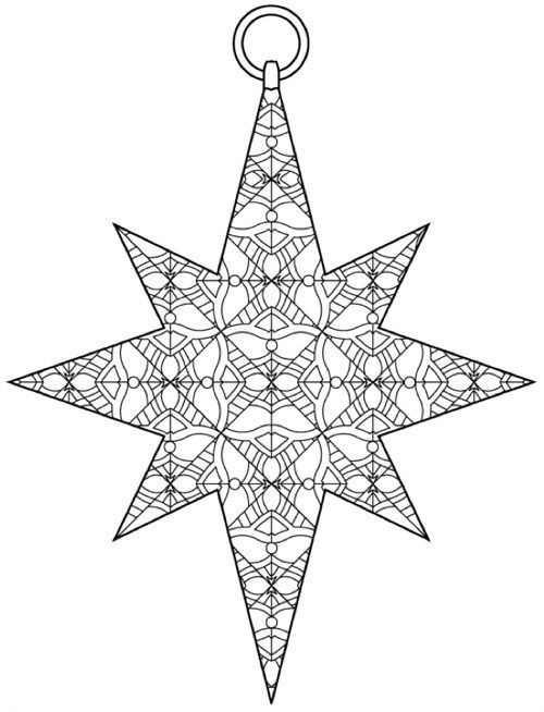 Intricate Ornaments 45 Christmas Designs To Color