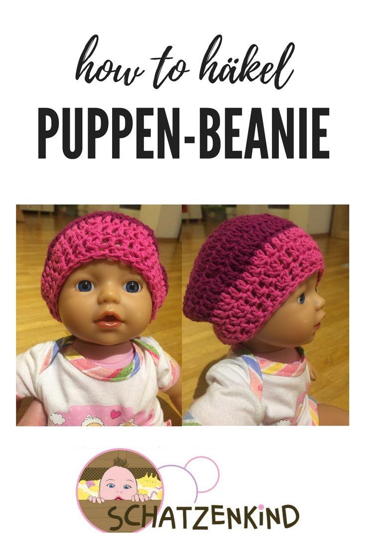 Photo of Häkelanleitung: Puppen-Beanie