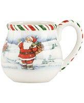 Kathy Ireland Once Upon A Christmas Mug Christmas Mugs Kathy Ireland Everyday Dinnerware Set