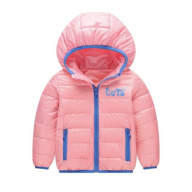3d4075346ad3 Fashion Casual Sports Baby Girls Boys Kids Down Jacket Winter Coat ...