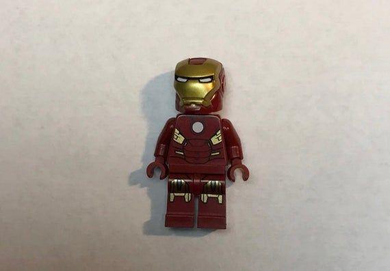 RARE custom LeGo Minifigures HERO TOY MARVEL IRON MAN MOC 2020 Tony Stark