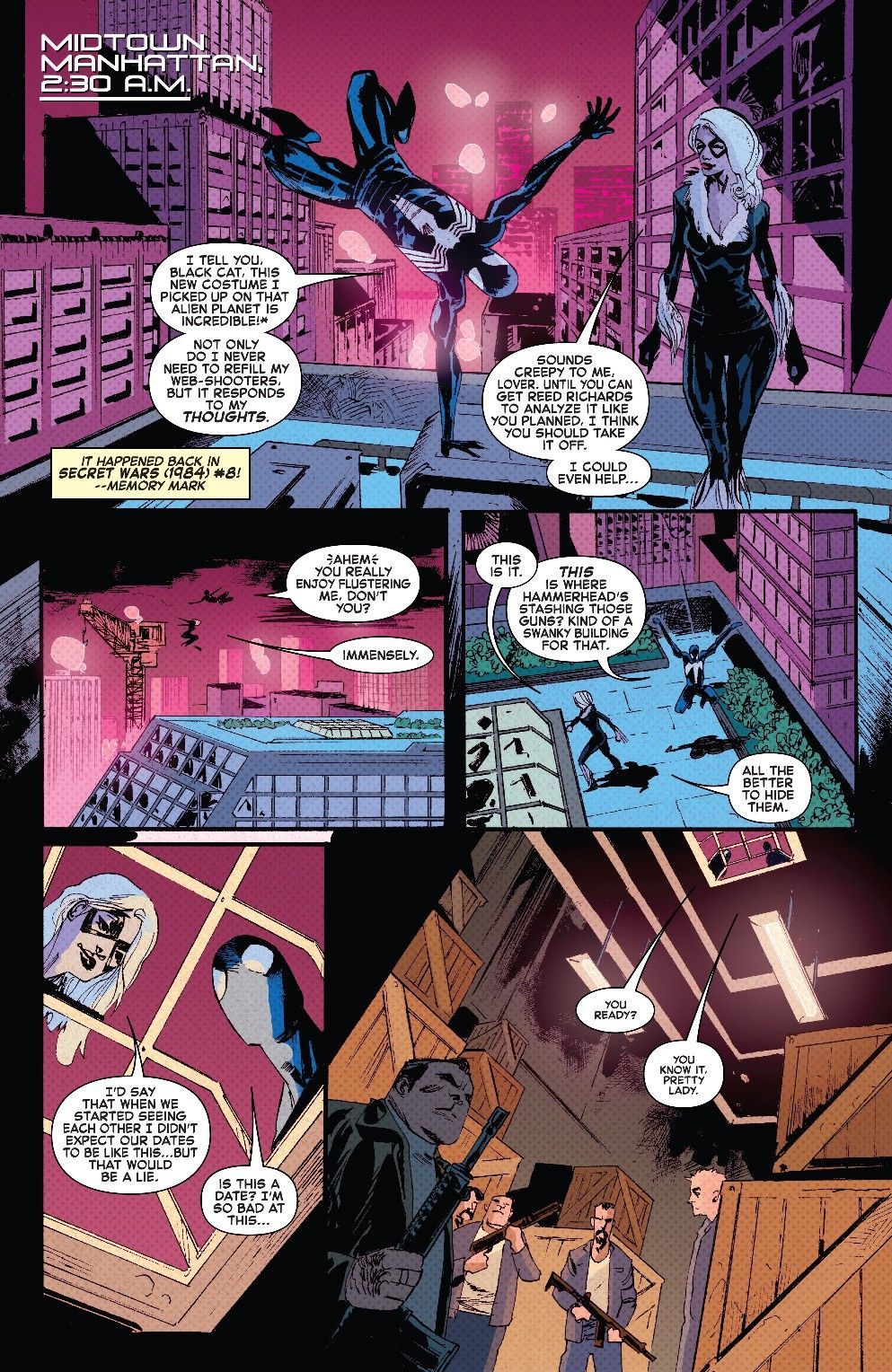4db77f3c (w), Garry Brown (a), and Lee Loughridge (c).] The Amazing Spider-Man  Annual (2018) # 1 (Sep. 2018), [Marvel Comics]: 05. | Airworthy Comics