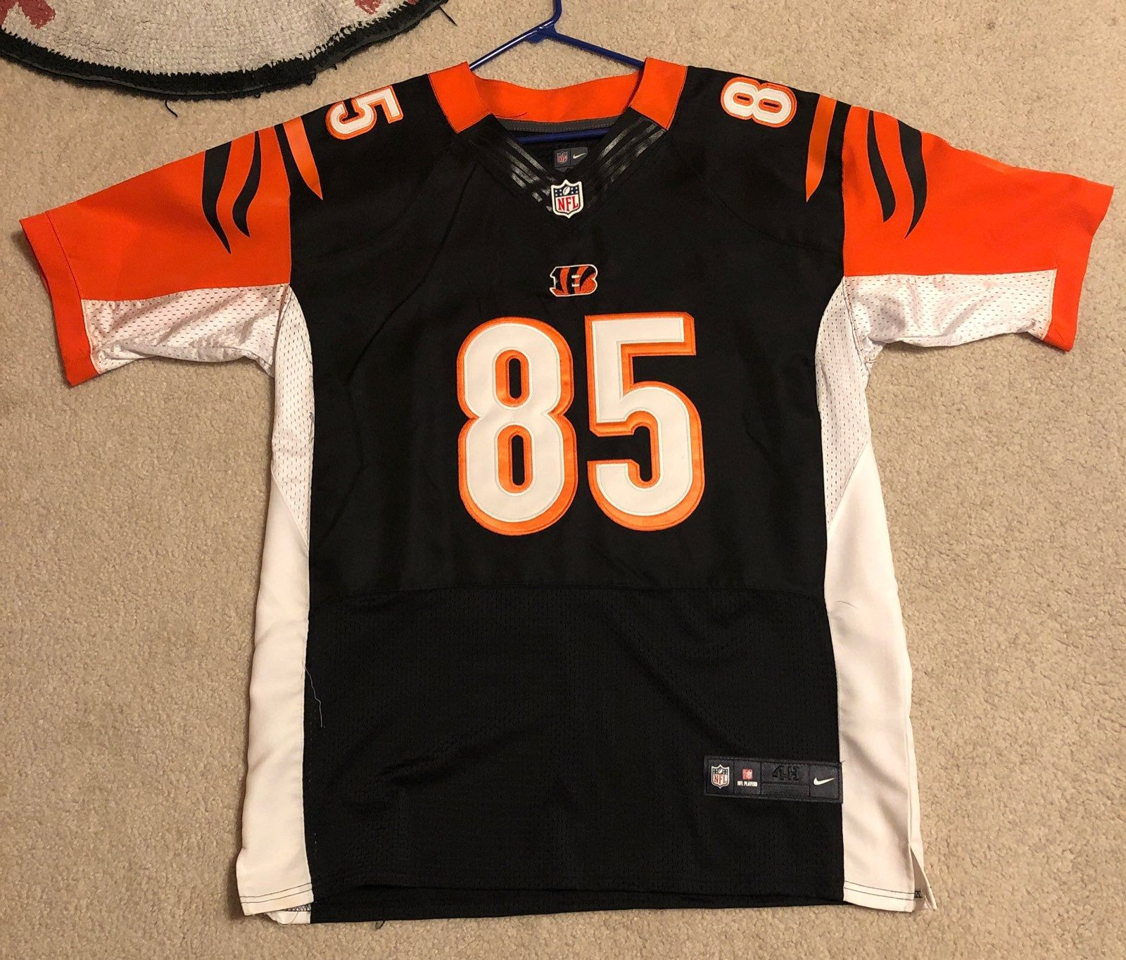 Authentic jersey. Everything is sewn own. Jersey is NWOT. Size 48 ...