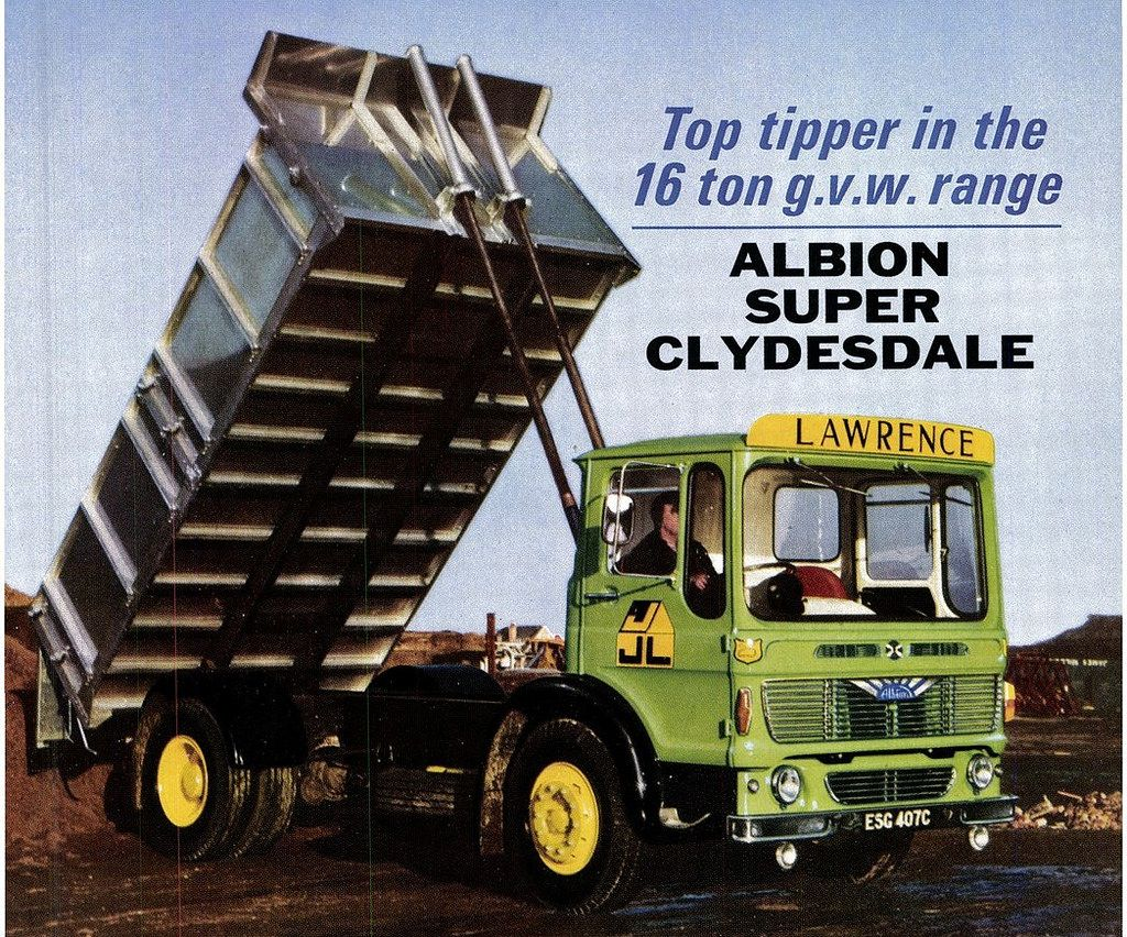 Albion Super Clydesdale Tipper J Lawrence Seacoaler Tags Old
