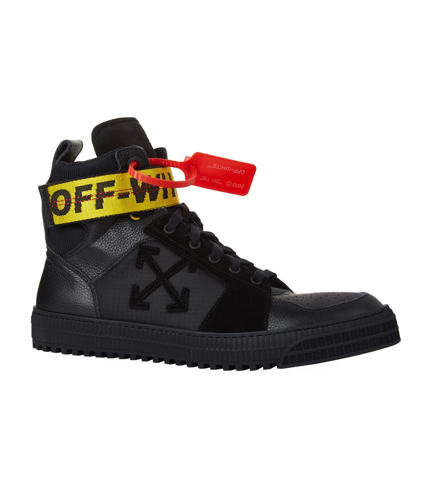 Off-white Industrial Full-grain Leather