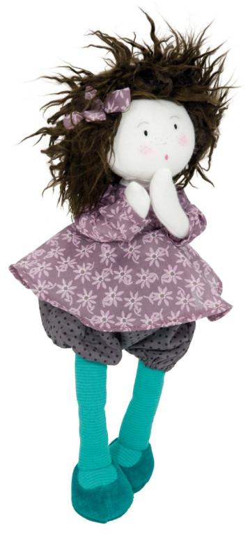 Louison, poupée chiffon, Les Coquettes, Moulin Roty, jouets, kids
