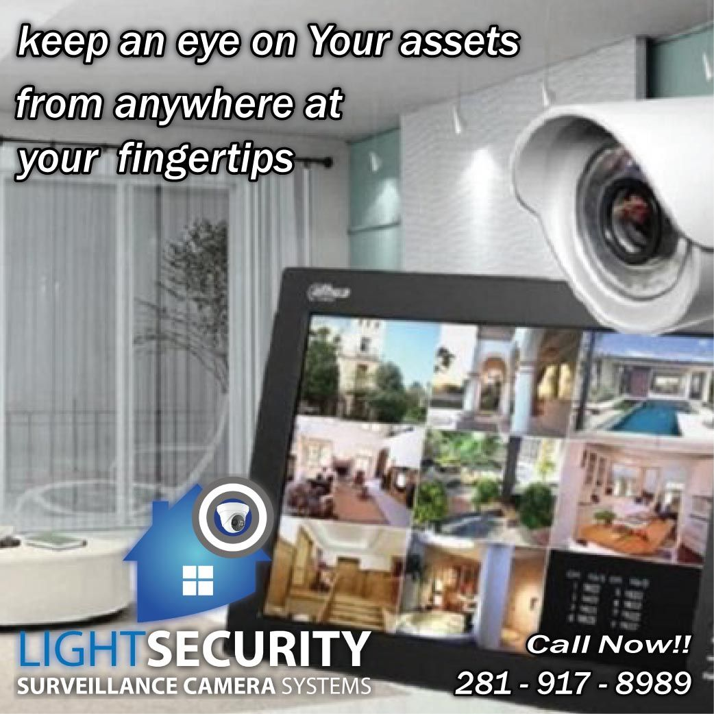 Do not let them surprise you install a security system in
