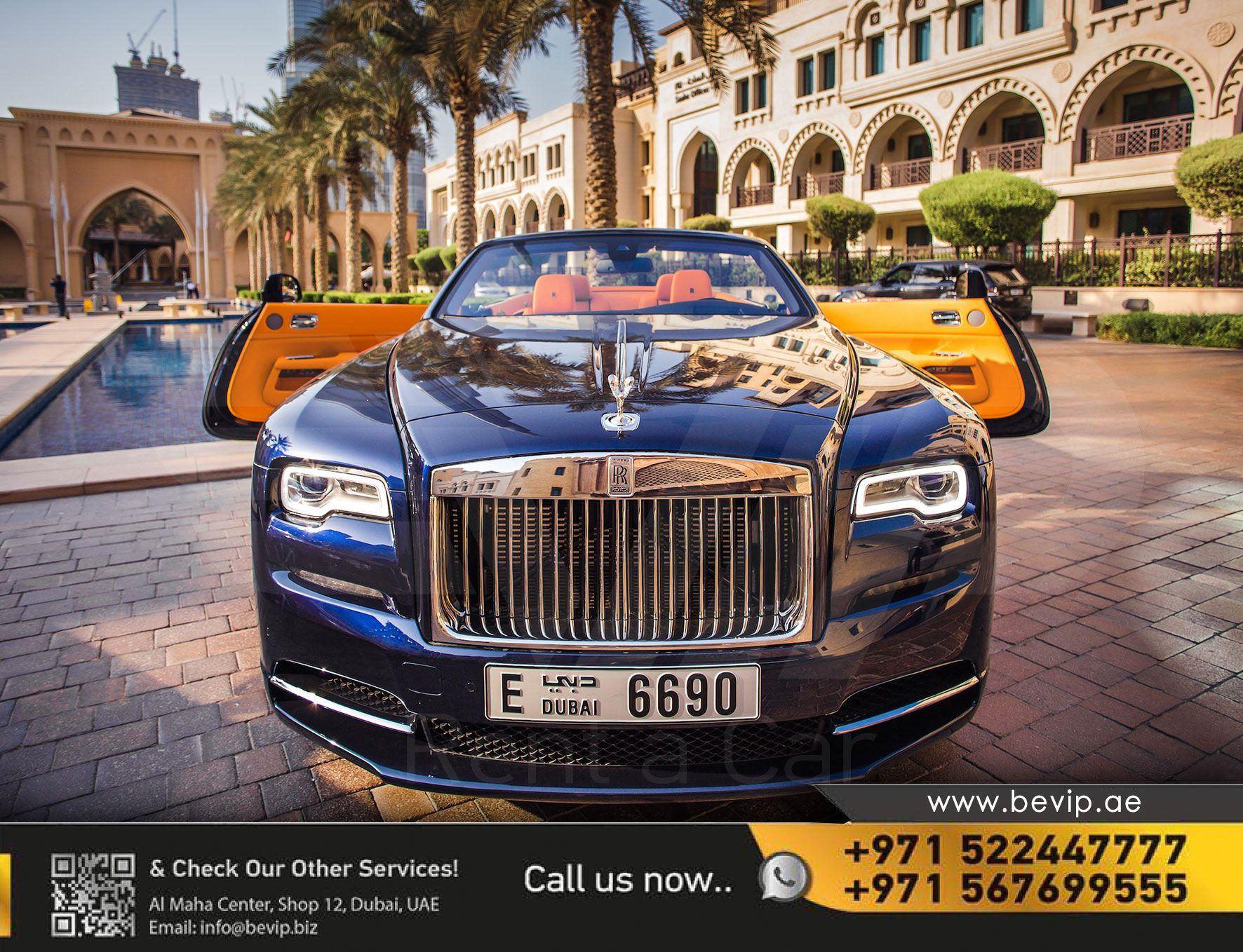 Rolls Royce Dawn For Rent In Dubai Rolls Royce Rolls Royce Dawn Sports Car Rental