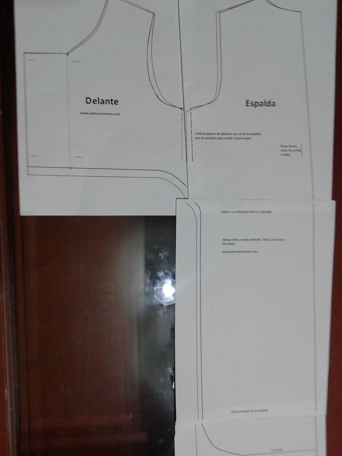Abrigo Patrón Modo Partes De Cruzado Unir Abrigos Del Las CqwYUAq