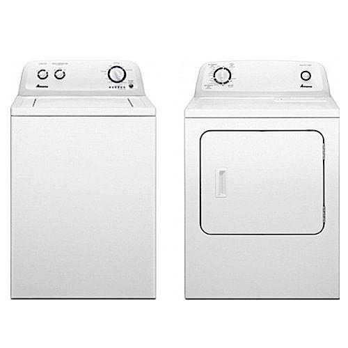 Easily clean those dirty clothes with this washer and dryer combo