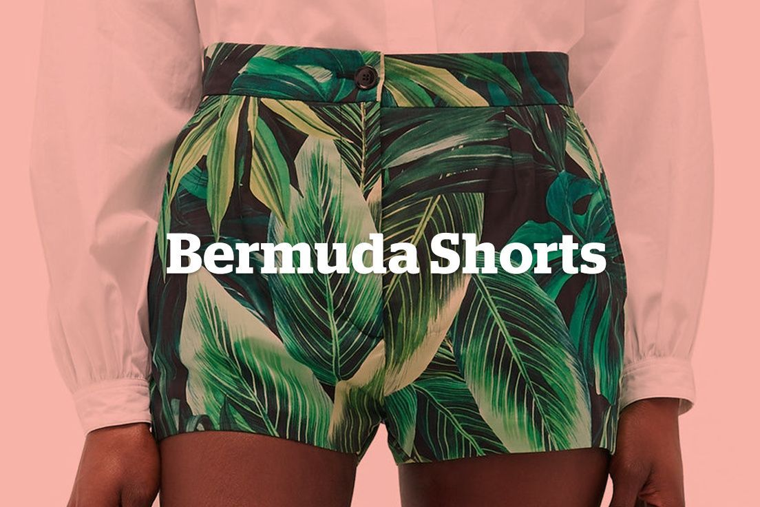 Bermuda Shorts in 2020 Clothing staples, Clothing