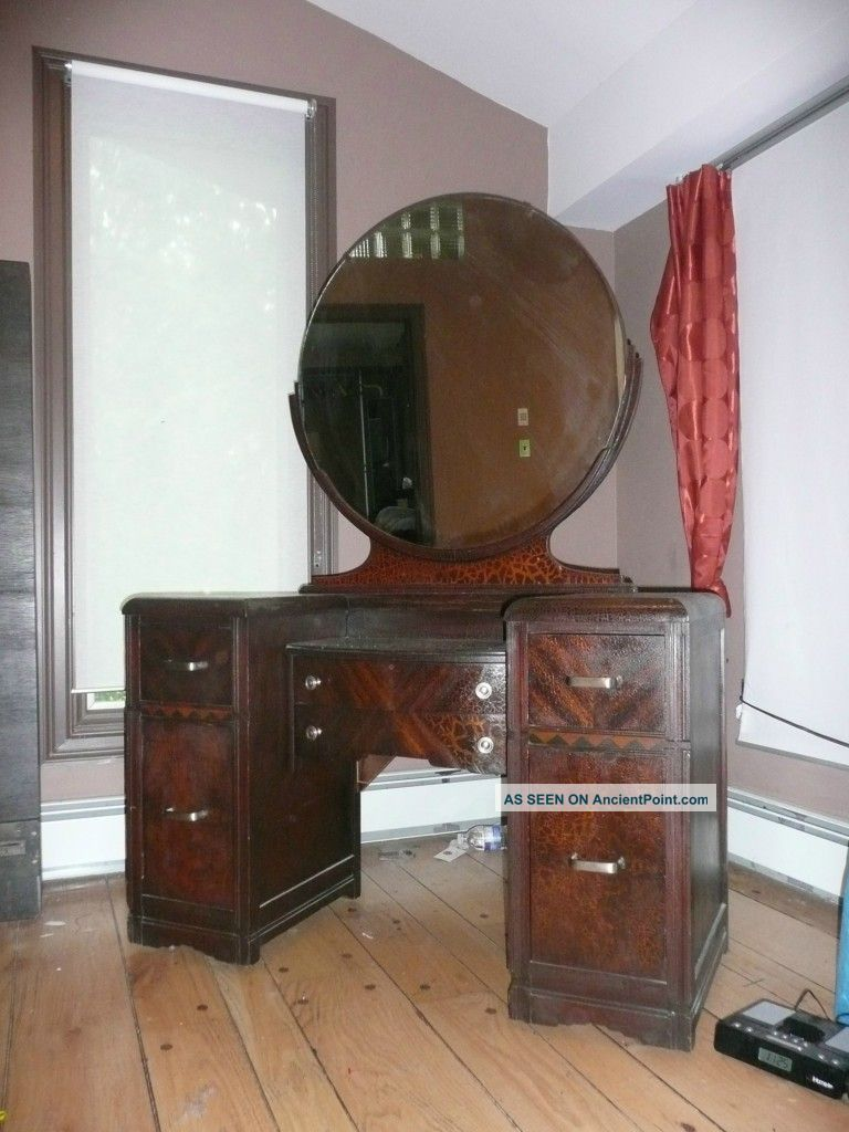 Vintage Vanity Dressing Table - Old Hollywood Glamour 1900-1950 ...