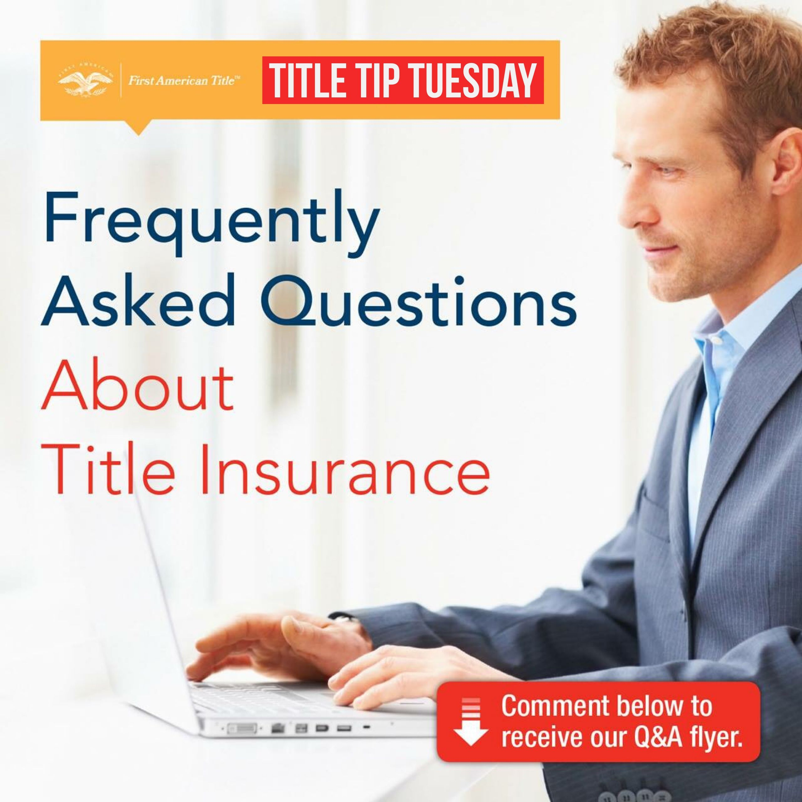 Titletiptuesday Faq S About Title Insurance What Is Title