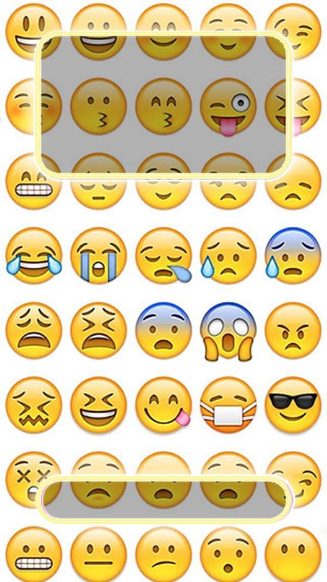 Emojis Lock Screen Iphone Backgrounds Pinterest Iphone