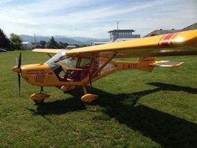 Zum Flugzeug selber fliegen in Eschbach werden Sie von einem Flugprofi herzlich begrüßt und intensiv in das Erlebnis eingewiesen.