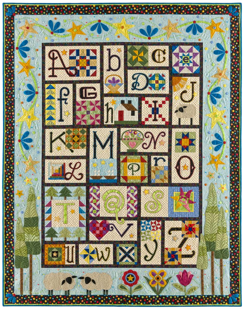 A to Z, Ewe and Me by by Janet Stone, Block of the Month - BOM ... : block of the month quilt - Adamdwight.com