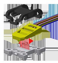 US Conec   PRIZM® LightTurn®   MTP® Connector   SPF Transceiver