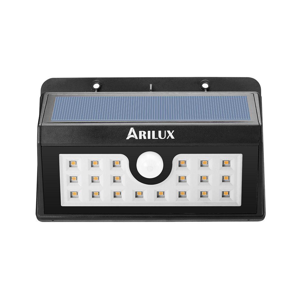 Arilux alsl wireless solar led waterproof pir motion sensor