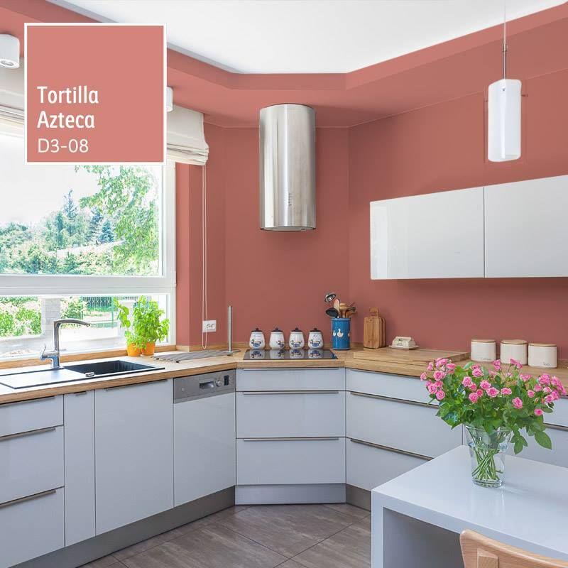 Pin De Sharon Quesada En Casas En 2020 Cocinas De Casa Colores