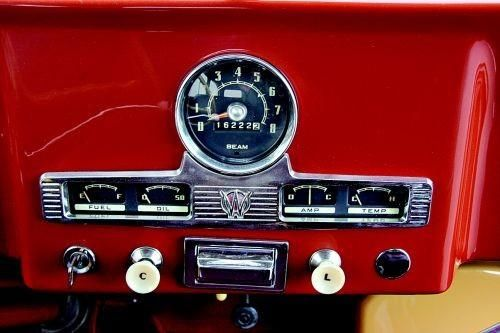 Ammeter Gauge Wiring For Willys Pickup Truck 1952