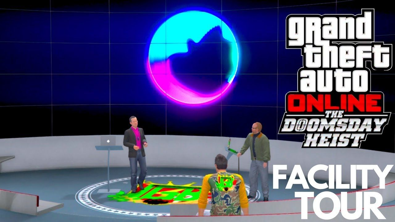 GTA 5 ONLINE THE DOOMSDAY HEIST NEW PROPERTIES TOUR FACILITY