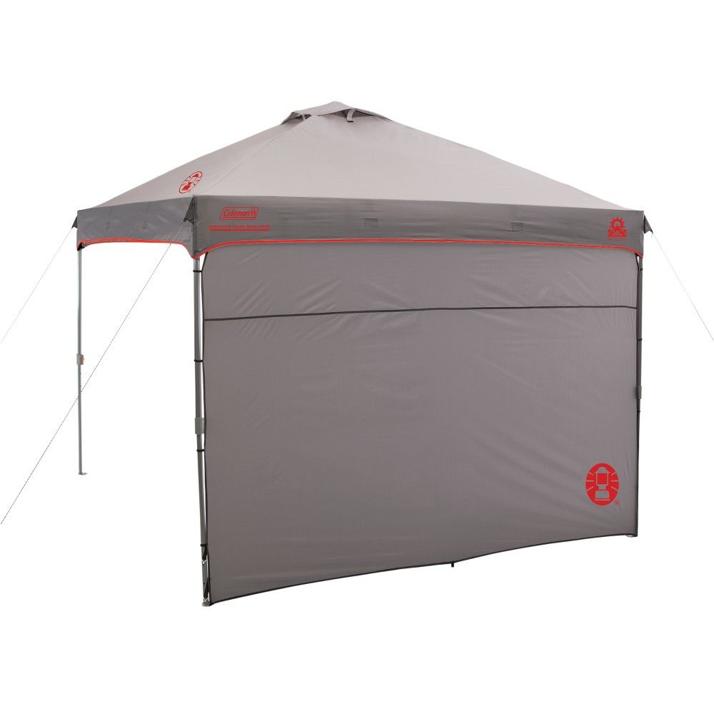 Coleman Instant Canopy With Sunwall 10 X10 Gray Instant