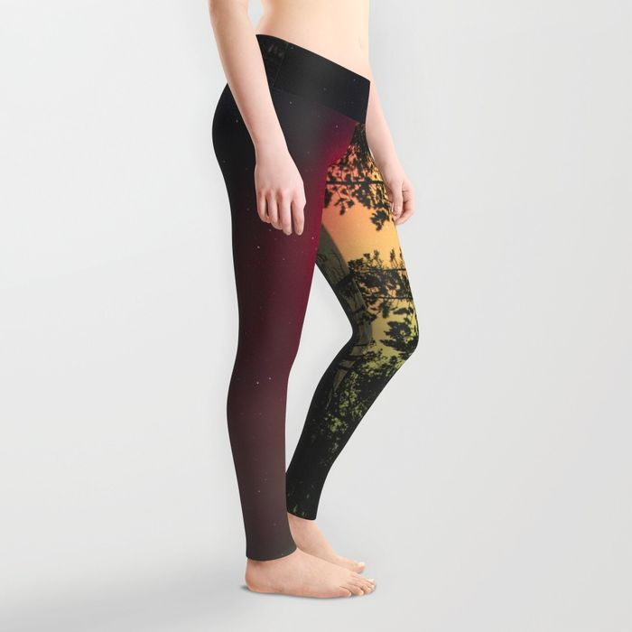 Aurora Leggings by Gallery One | Society6