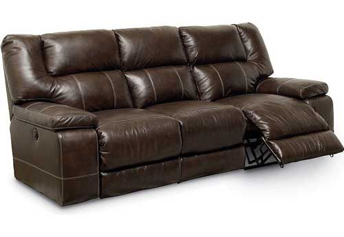 Lane Dual Reclining Leather Sofa Proudly Made In The Usa