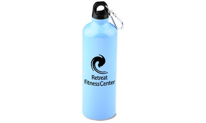 SWAG for Sales Floor-  View a larger, more detailed picture of the Pacific Aluminum Sport Bottle - 26 oz