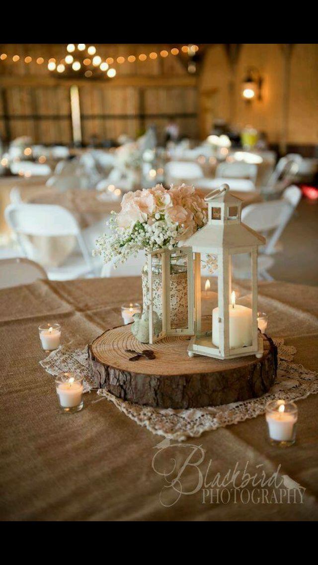 Round Table Center Piece Lantern Centerpiece Wedding Wedding Table Wedding Decorations