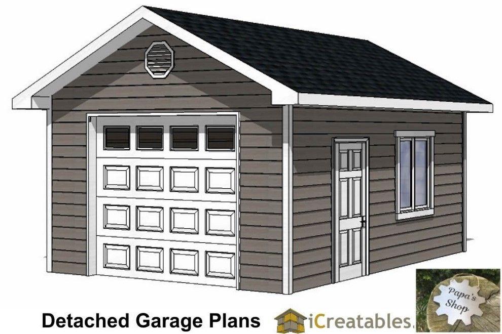 Garage Shop Buildings Interior And Exteriors Garageshop Organizeworkshop Workshopideas Garage Plans Diy Garage Plans Garage Plans Detached