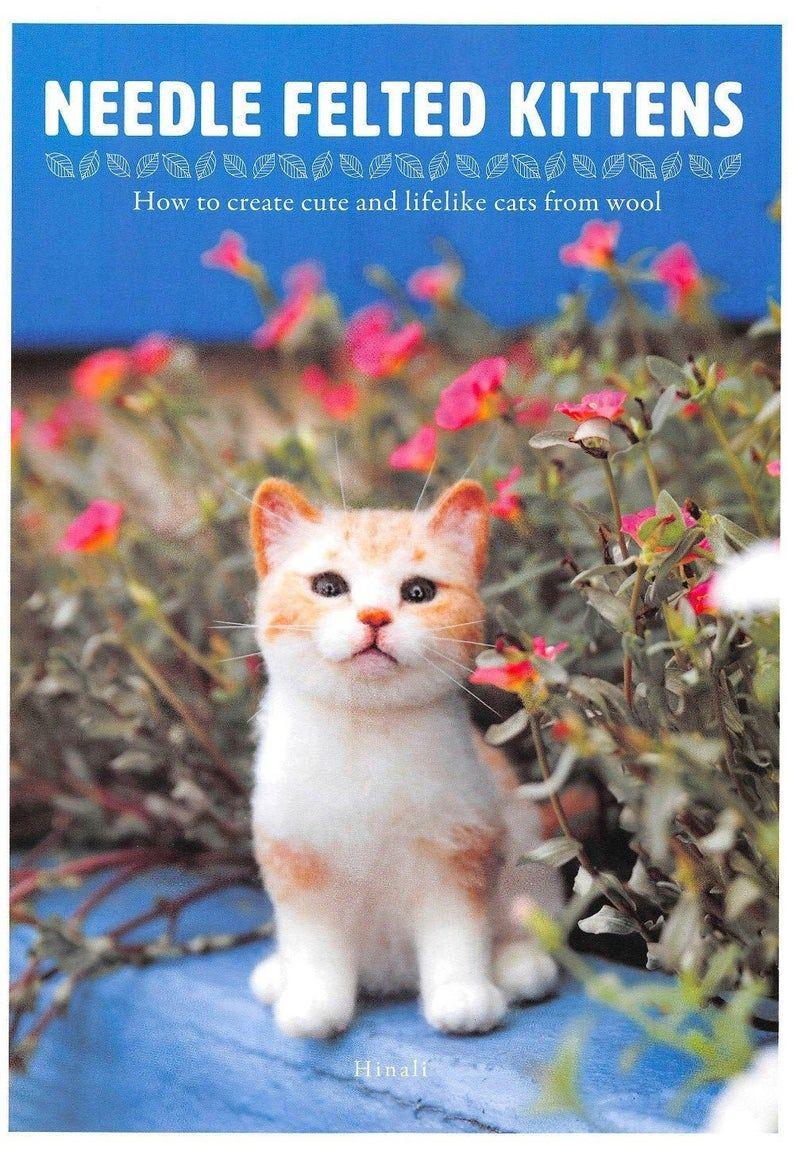 Realistic Cat Felt Cat Plush Toy Pattern Etsy In 2020 Felt Cat Cat Plush Cat Plush Toy