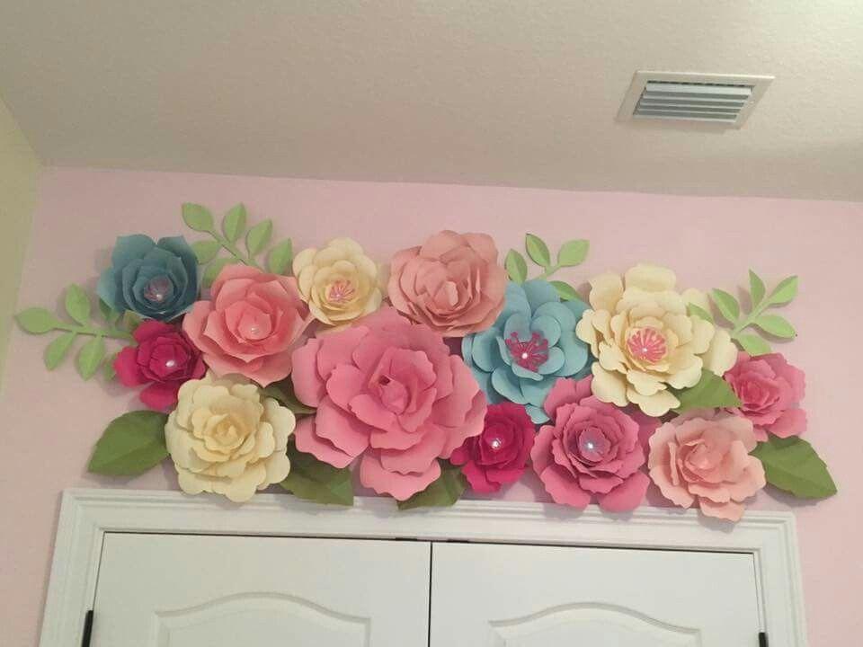 Kids room paper flowers kids pinterest kids rooms flower kids room paper flowers mightylinksfo Images