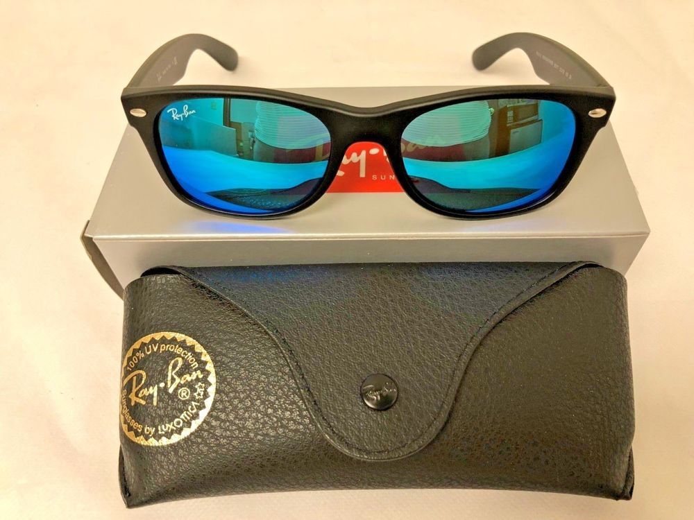 d88040c82e5 ... Flash Sunglasses RB2132 622 17 52-18 Blue Mirror Black  fashion   clothing  shoes  accessories  unisexclothingshoesaccs  unisexaccessories ( ebay link)