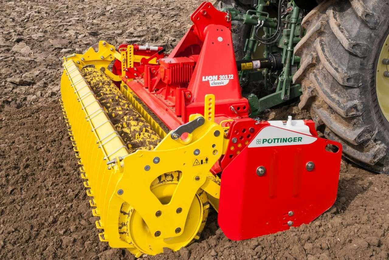 Pottinger Lion Kreiselegge Technik Kreisel Landwirtschaftliche Maschinen