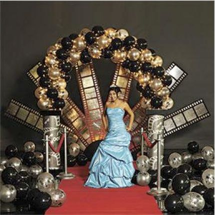 hollywood theme decorations from balloon artistry mazelmomentscom hollywood red carpet theme pinterest 16 chandeliers and hollywood - Hollywood Party Decorations