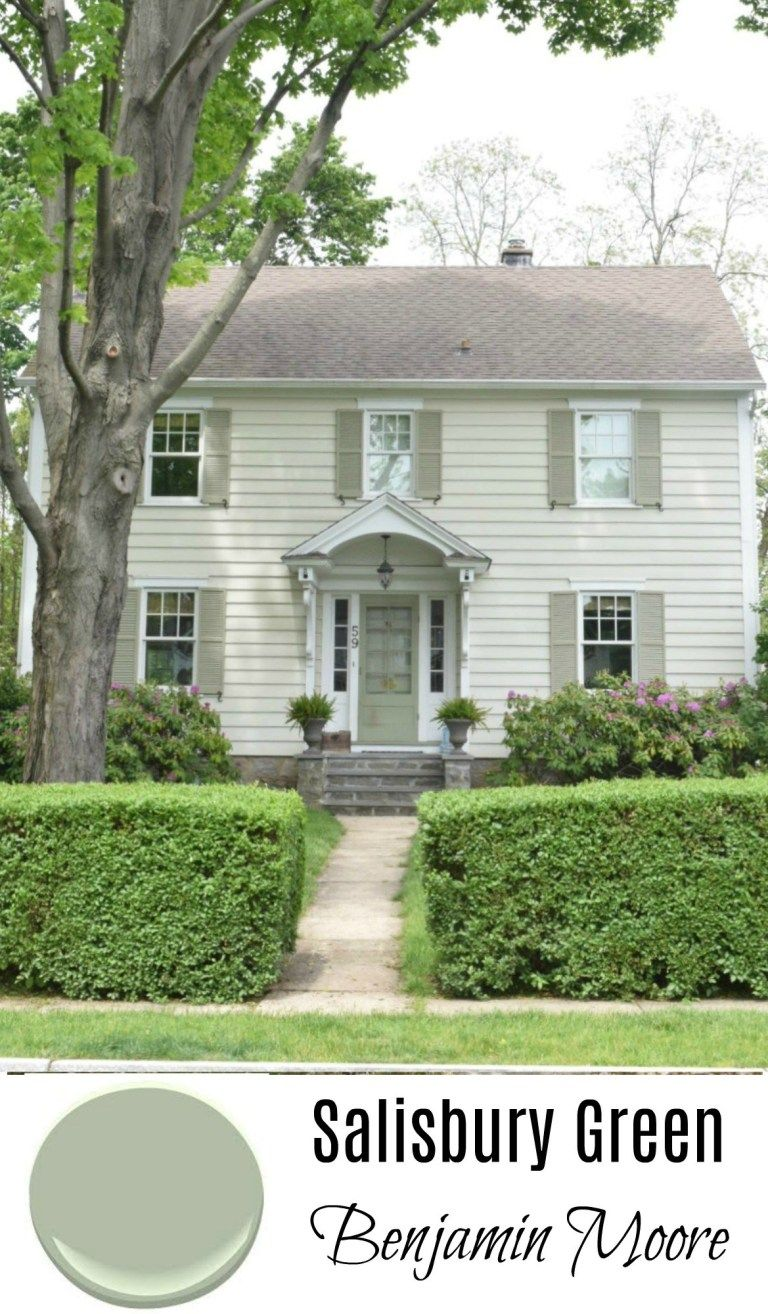 New England Homes Exterior Paint Color Ideas Green House