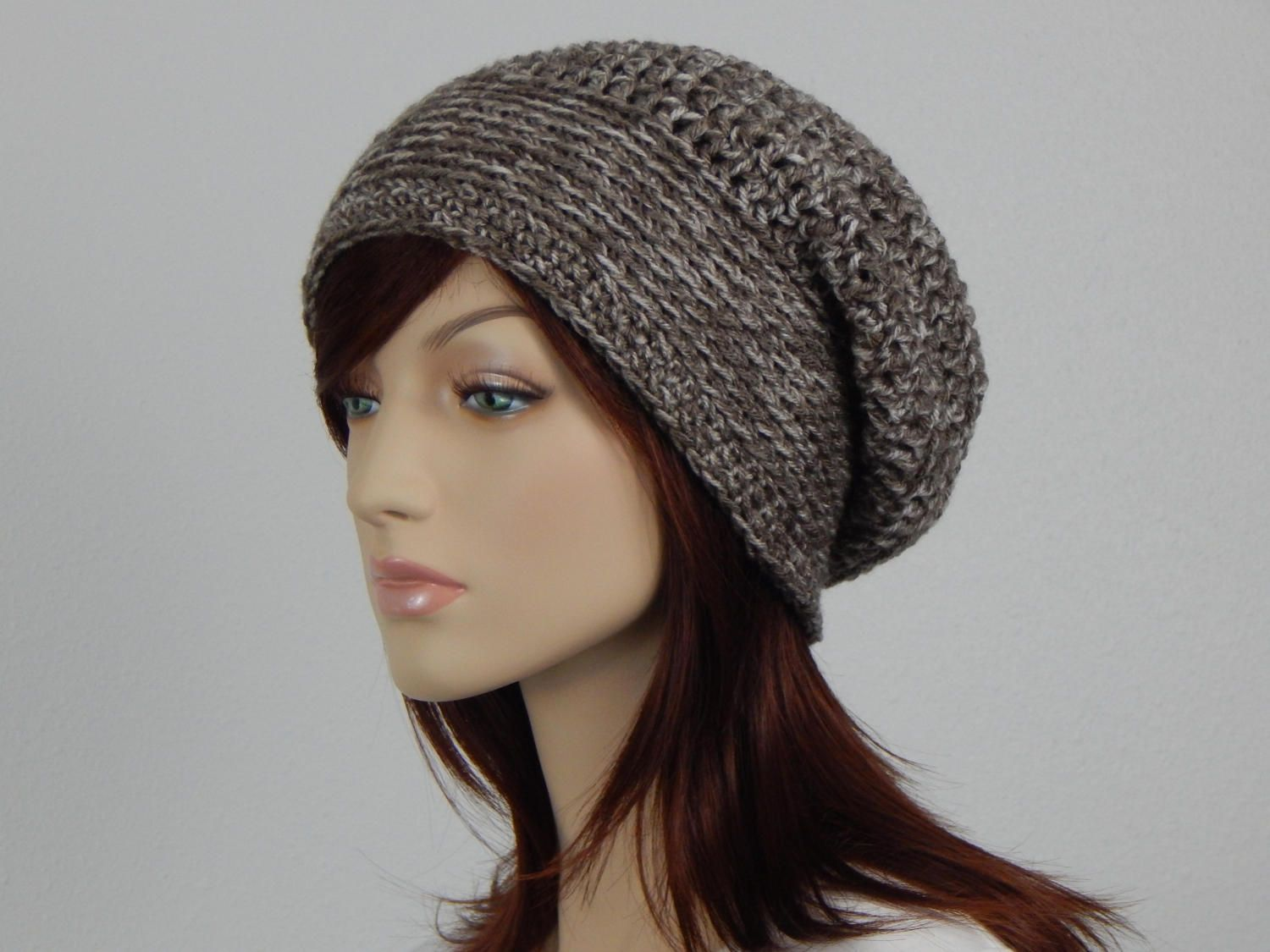 eb7cbfebdf2 Light Brown and Linen Slouch Hat