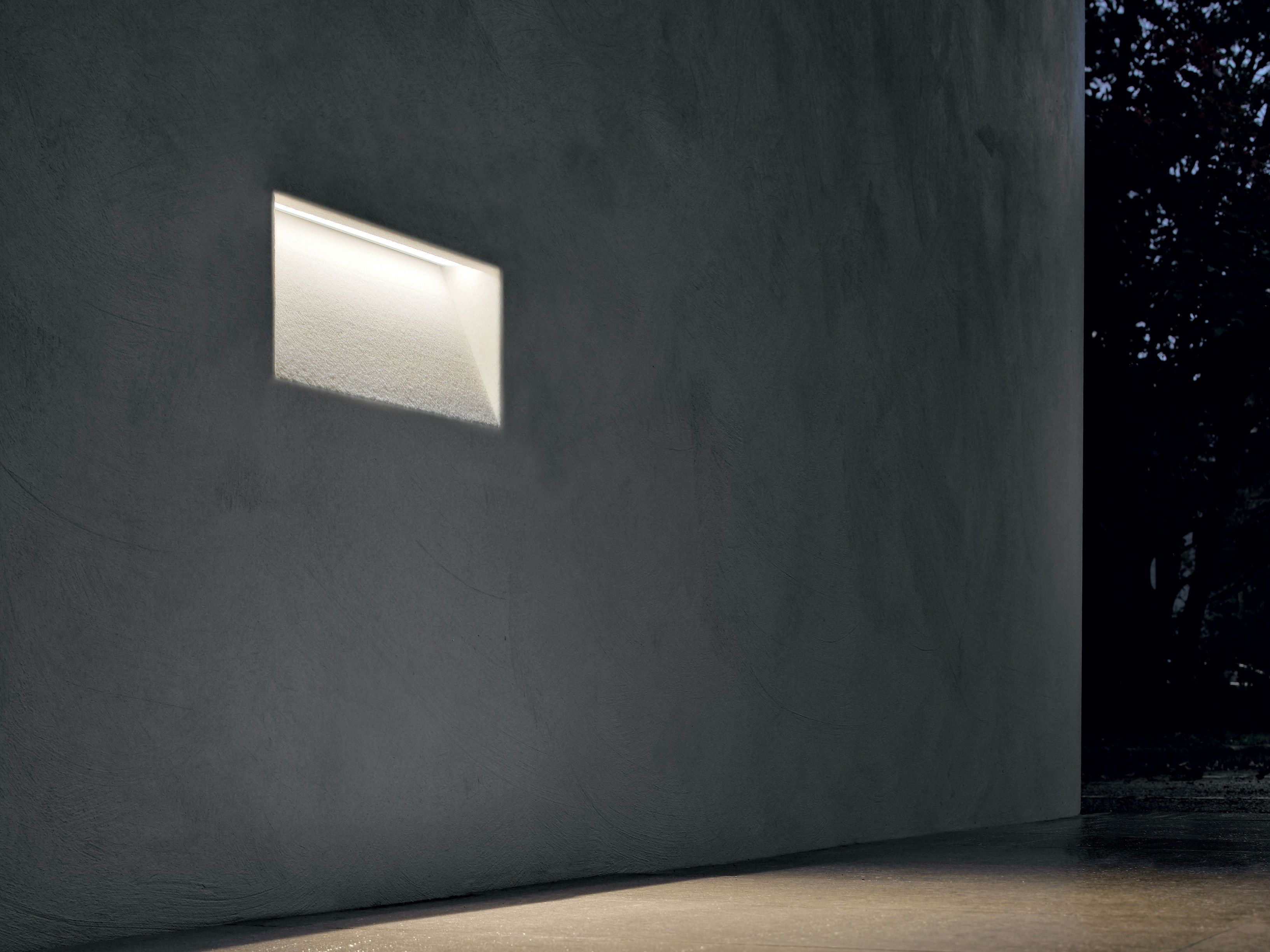 Barra a led da incasso per esterni fylo outdoor by linea light group