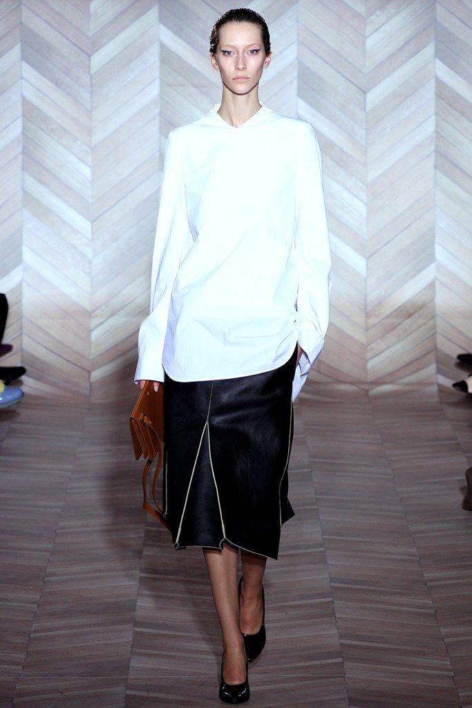 Maison Margiela Fall 2012 Ready-to-Wear Fashion Show - Alana Zimmer (Elite)