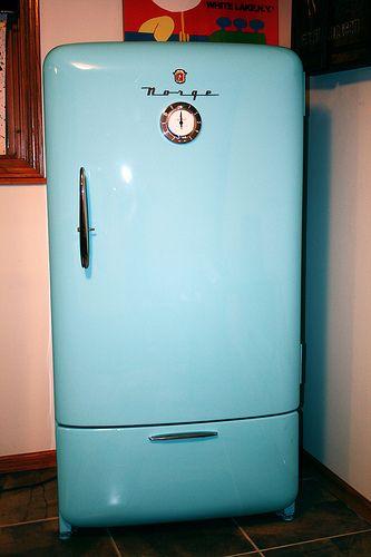 Norge Refrigerator Vintage Pinterest Refrigerator