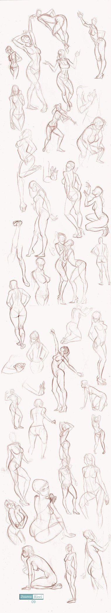 A great reference, all of my characters always end up looking rather stiff, hopefully a little practice will help