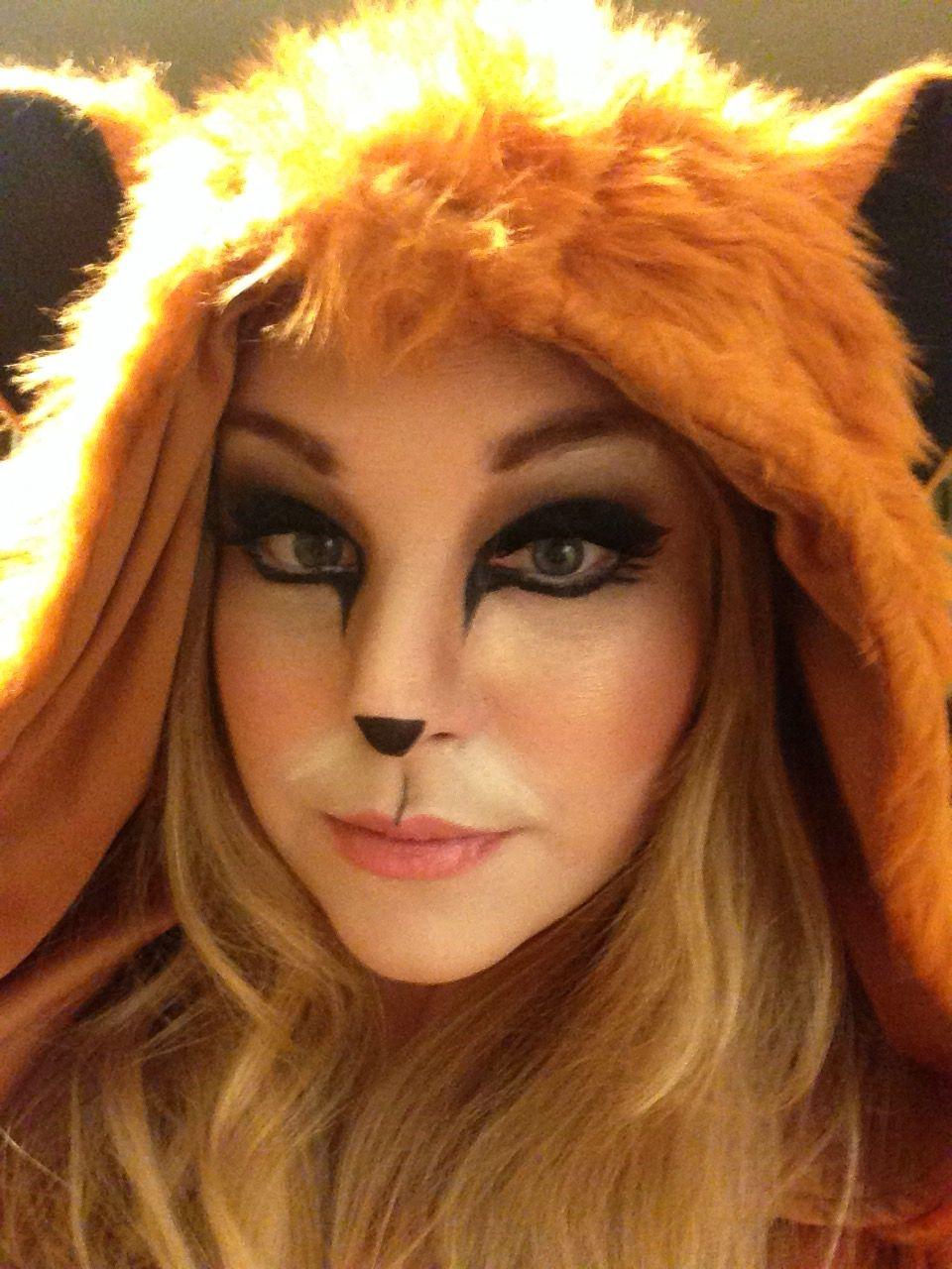 Foxy Lady Makeup Fox Makeup Halloween Sexy Halloween Mac Makeup Mac - Fox-makeup